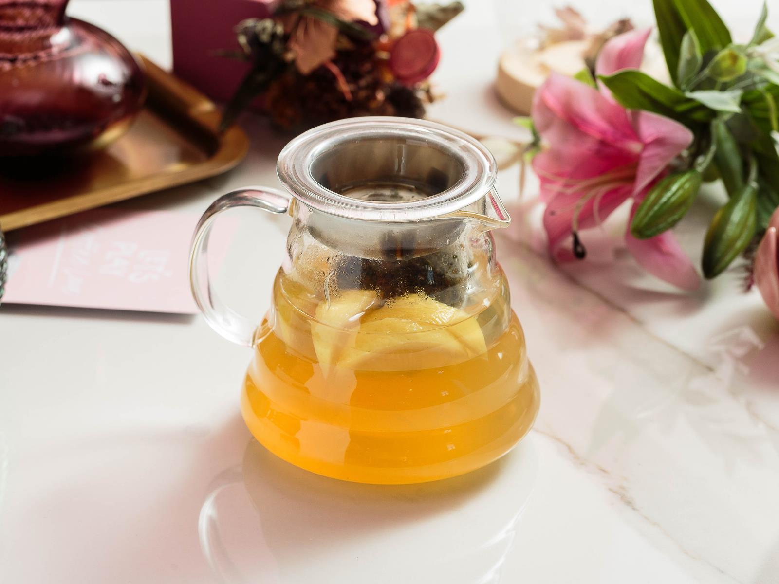 Чай лимонно-медовый