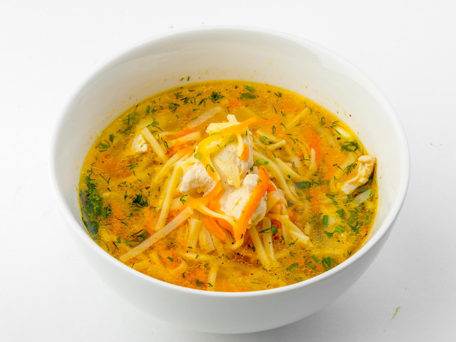 Суп лапша по-тамански
