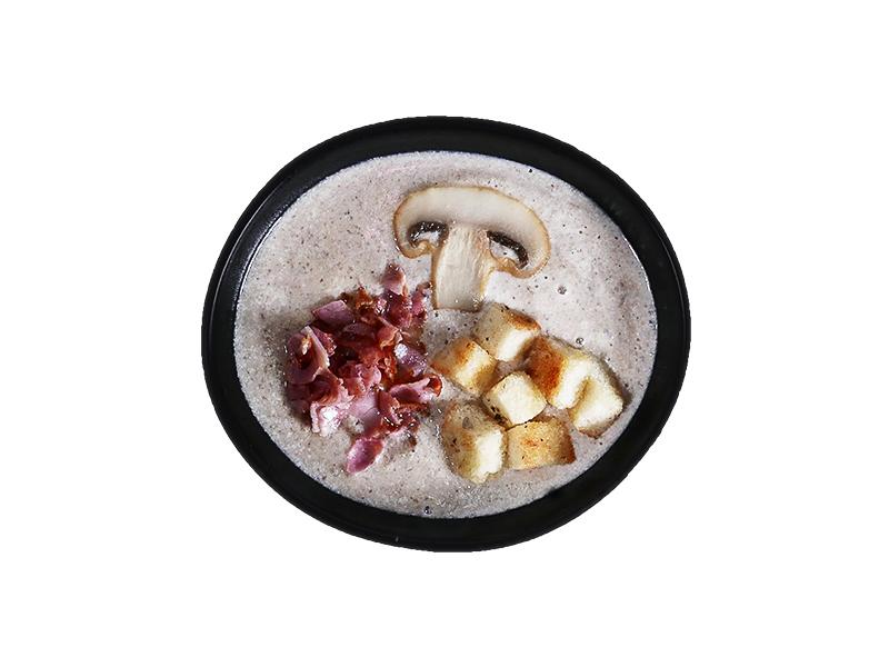 Сливочно-грибной крем-суп