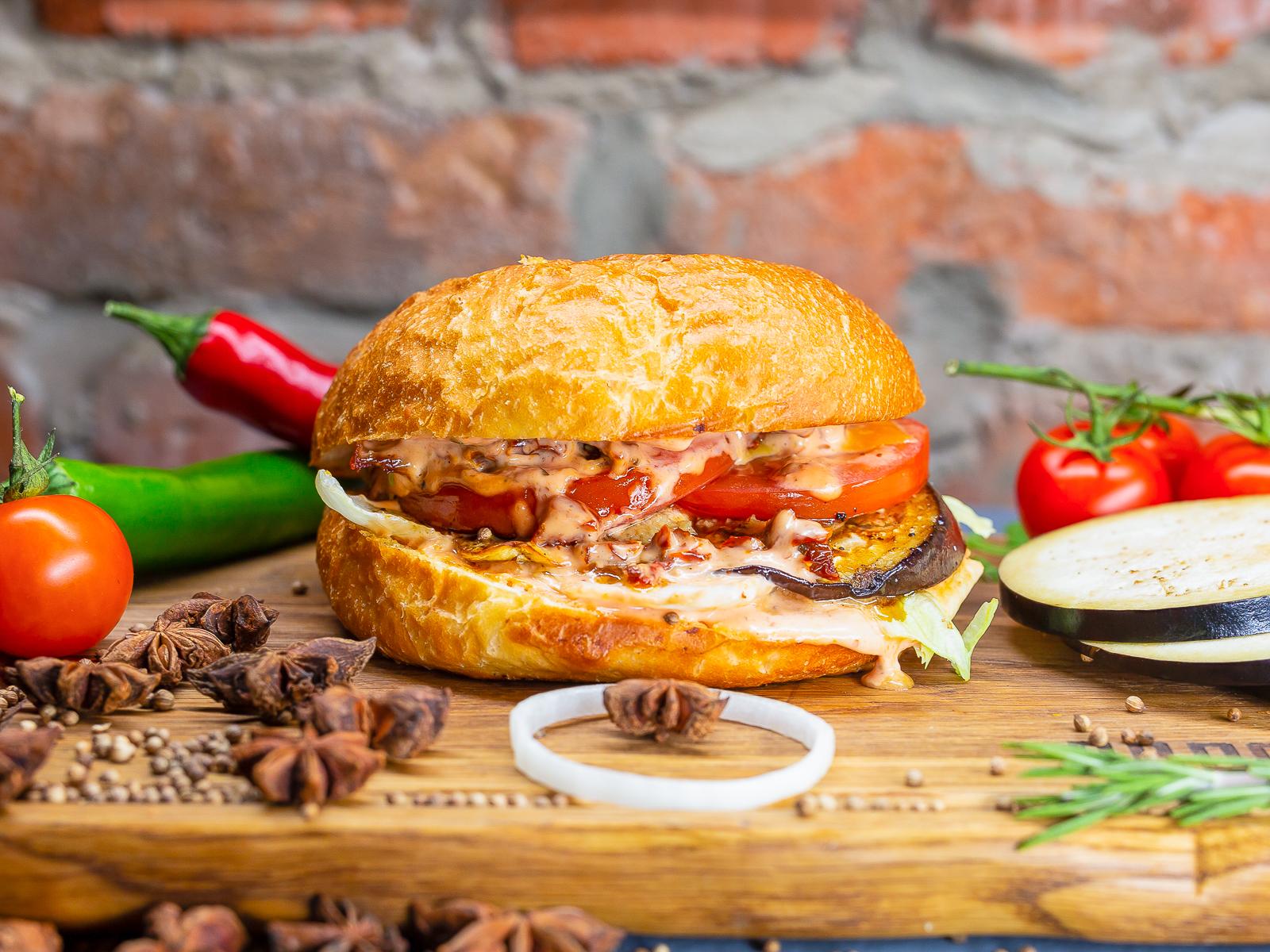 Бургер Мяса нет