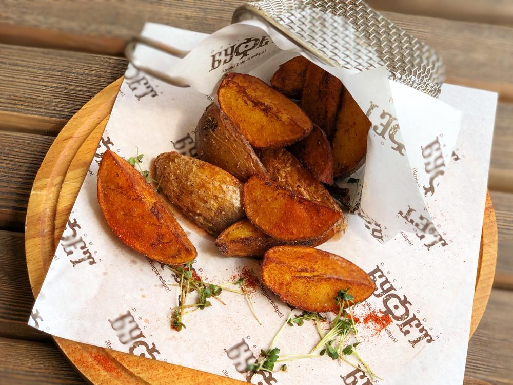 Картофель фри или по-деревенски