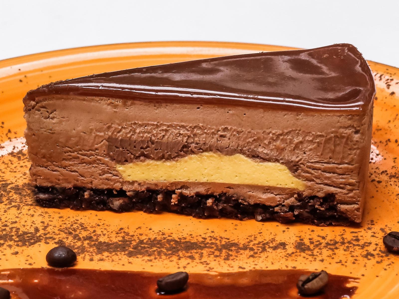 Торт Карамельно-шоколадный латте