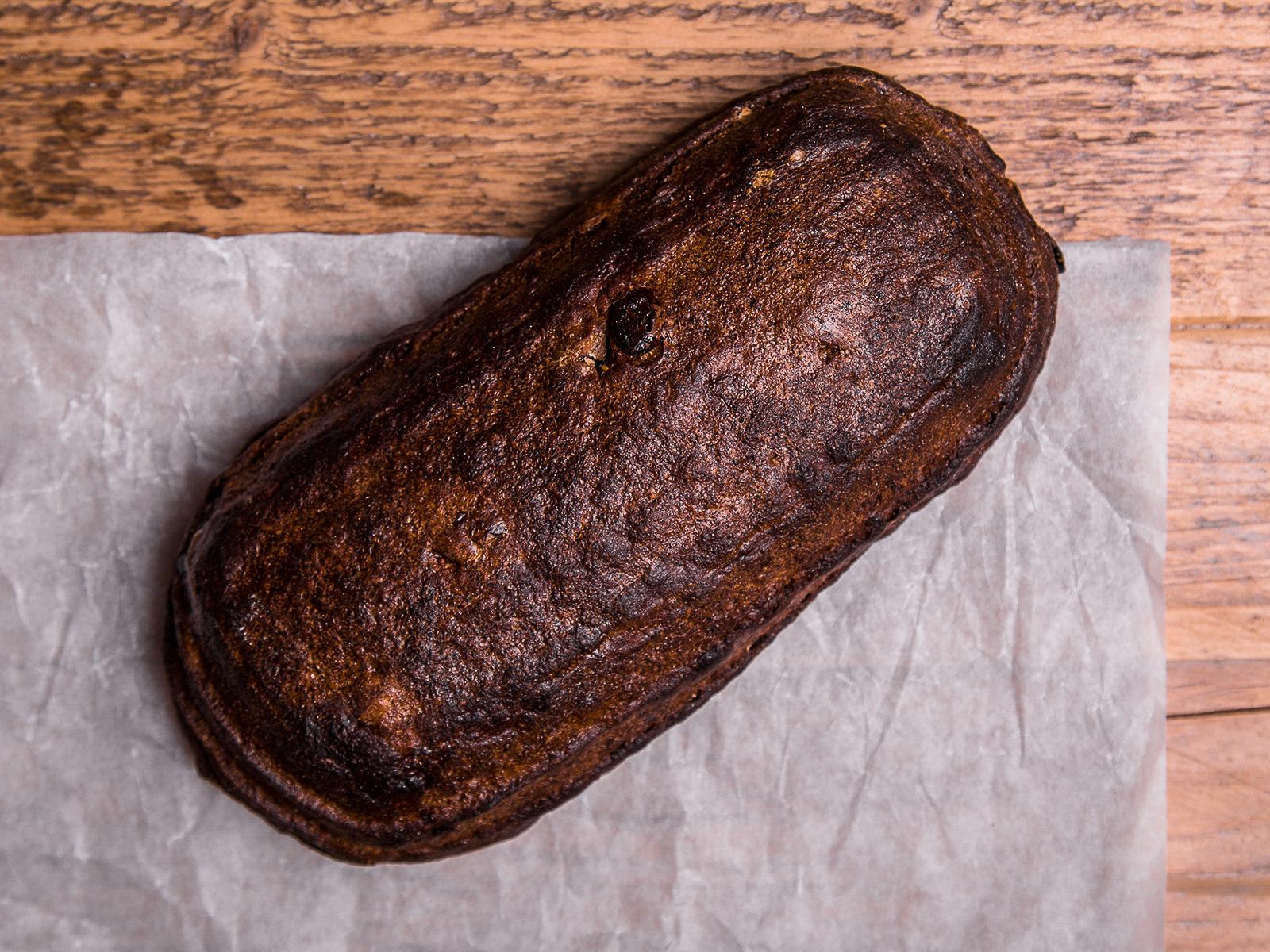 Хлеб Заварной с клюквой