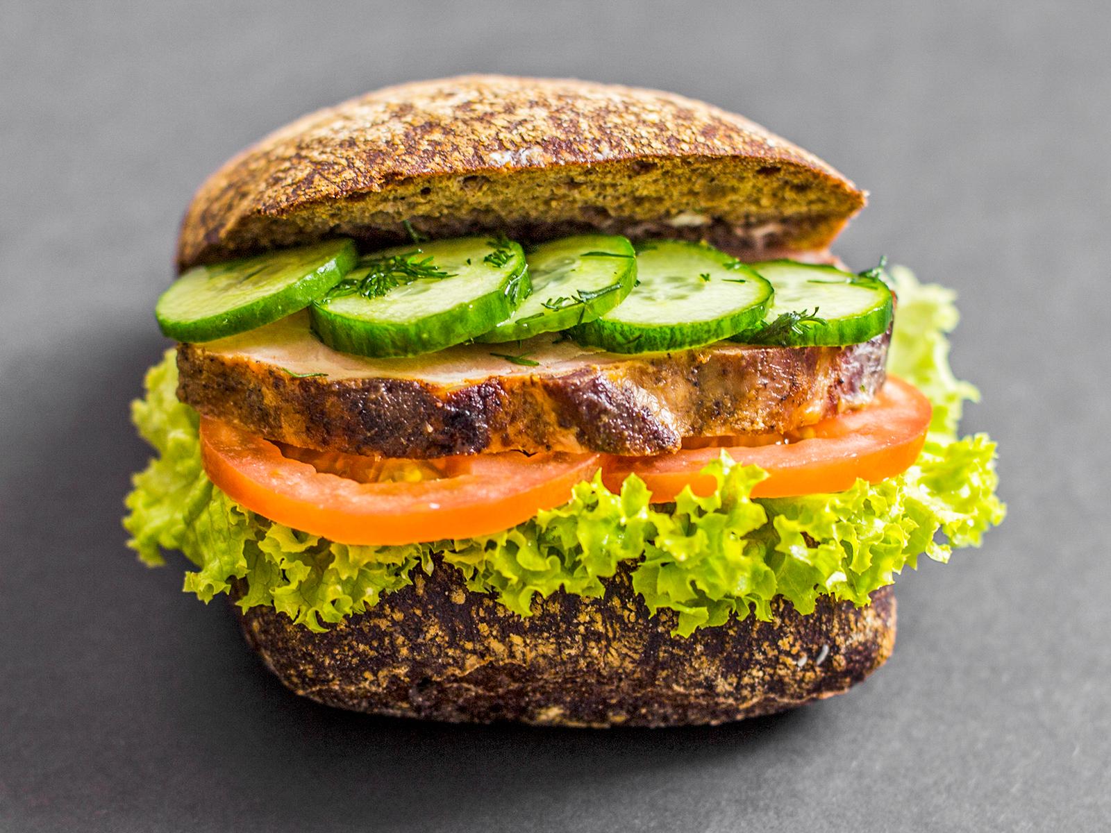 Сэндвич с бужениной
