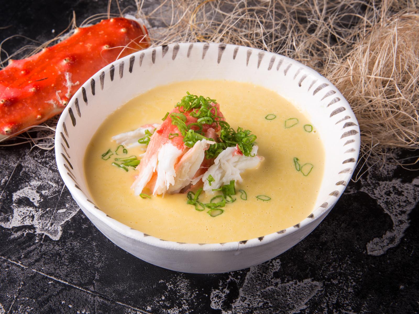 Суп Кукурузный с крабом