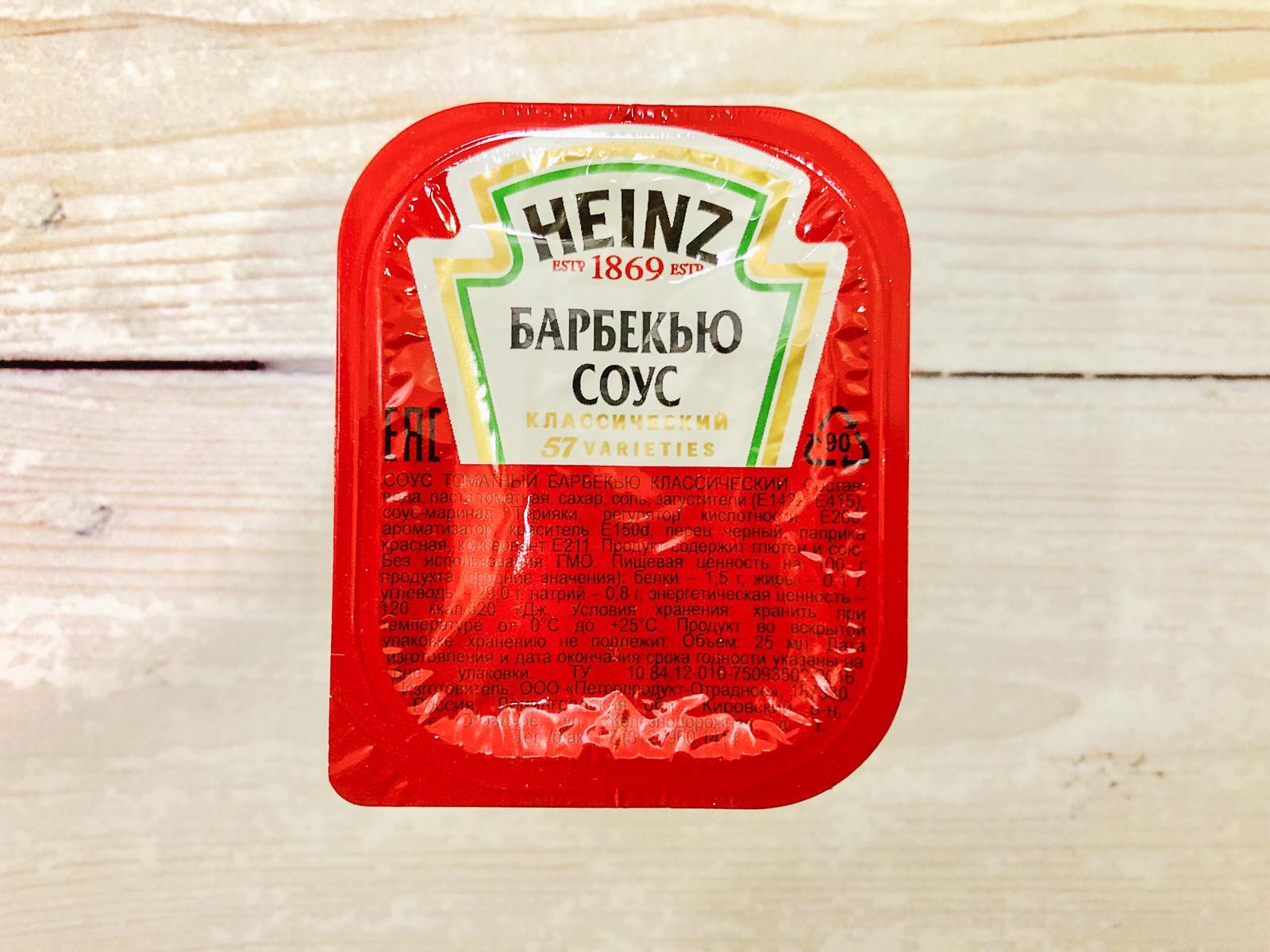 Соус Heinz барбекю