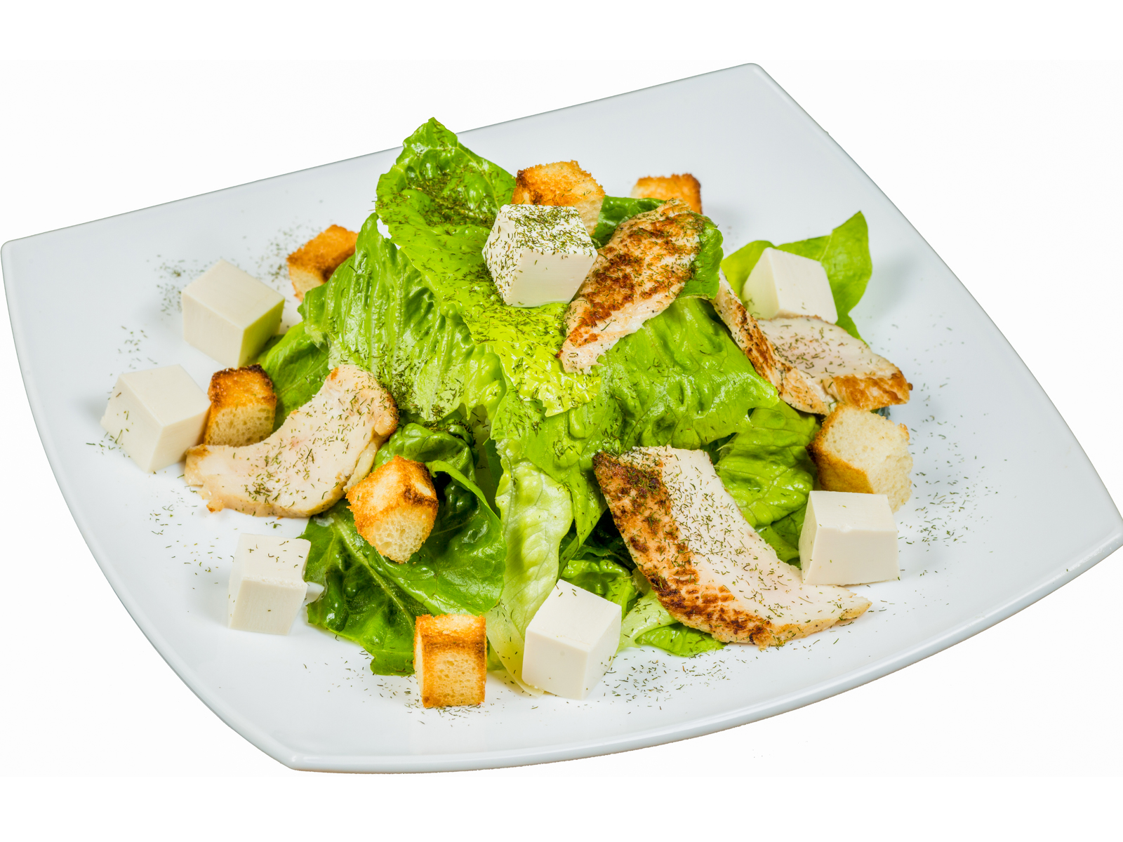 Салат Цыпленок с тофу