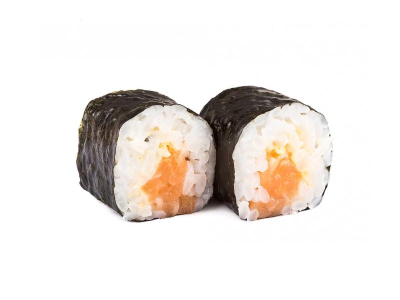 Ролл Острый с лососем