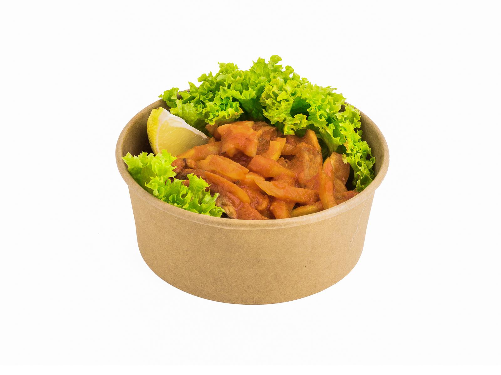 Морепродукты в тайском соусе