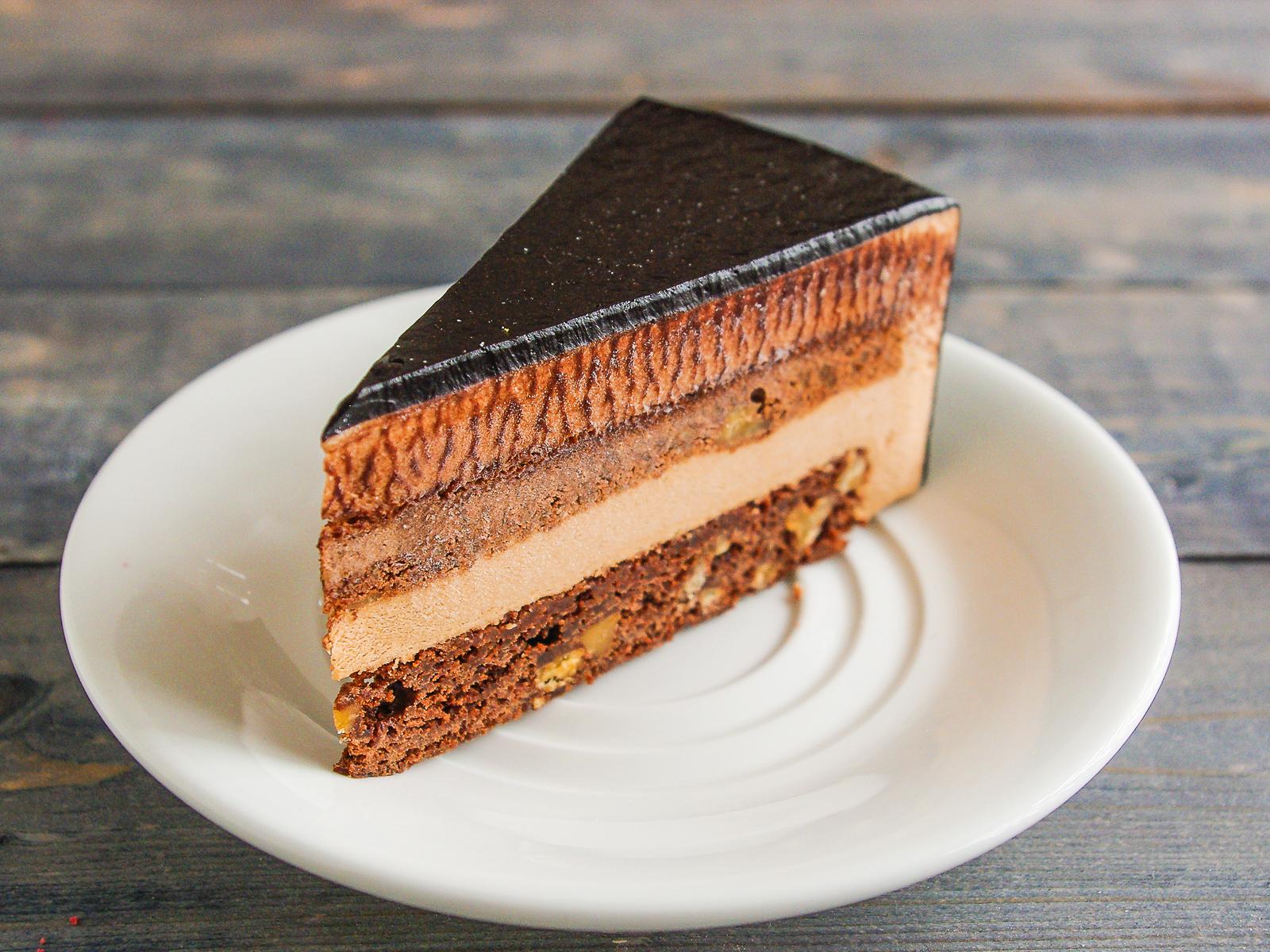 Торт Брауни с орехами
