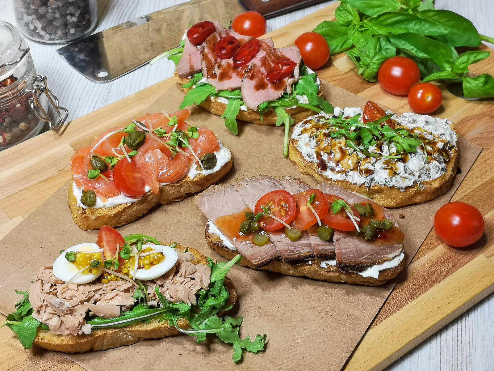 Сет бутербродный И рыба и мясо