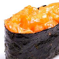 Суши острый лососем х.к