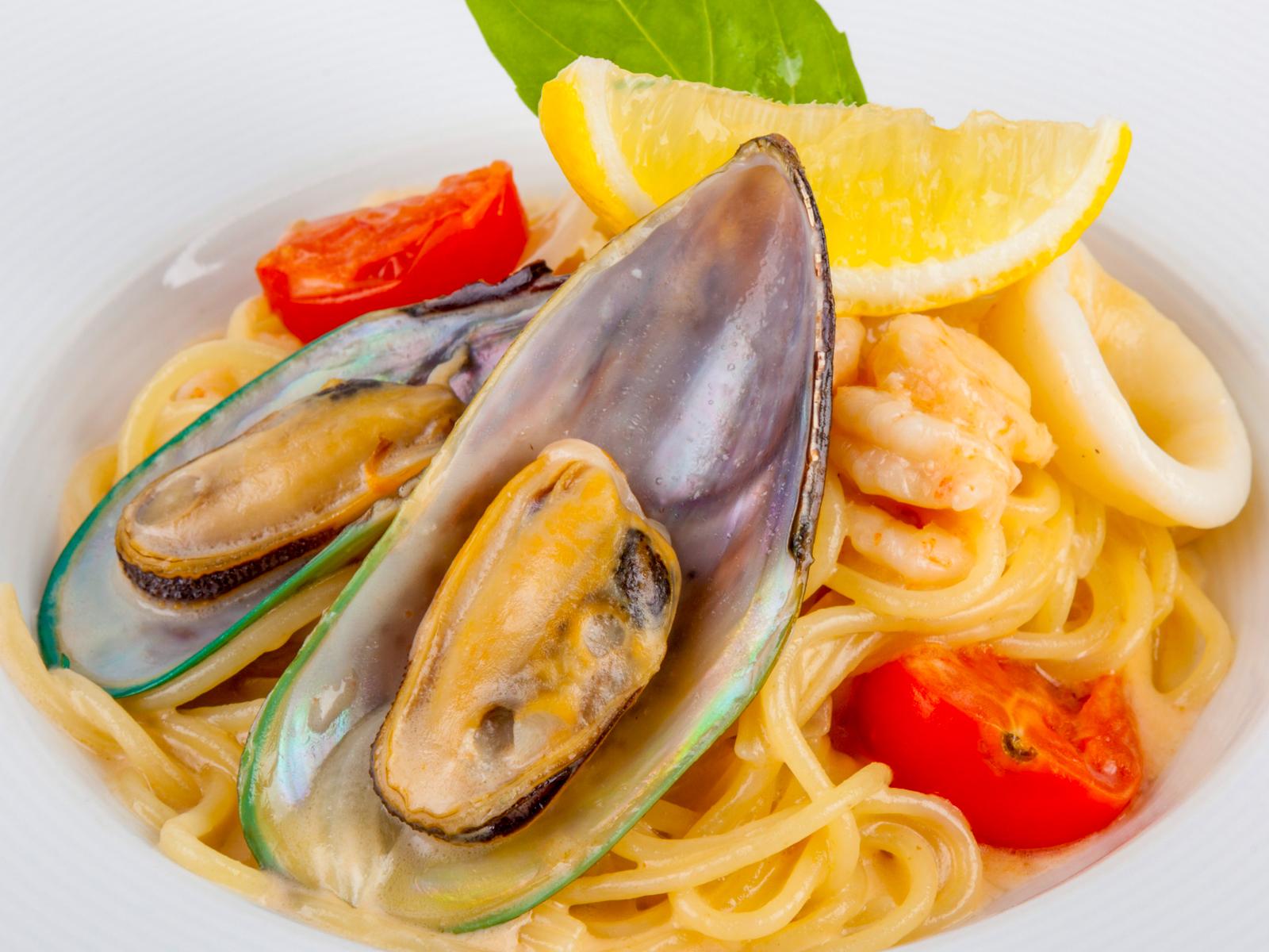 Спагетти Дары моря