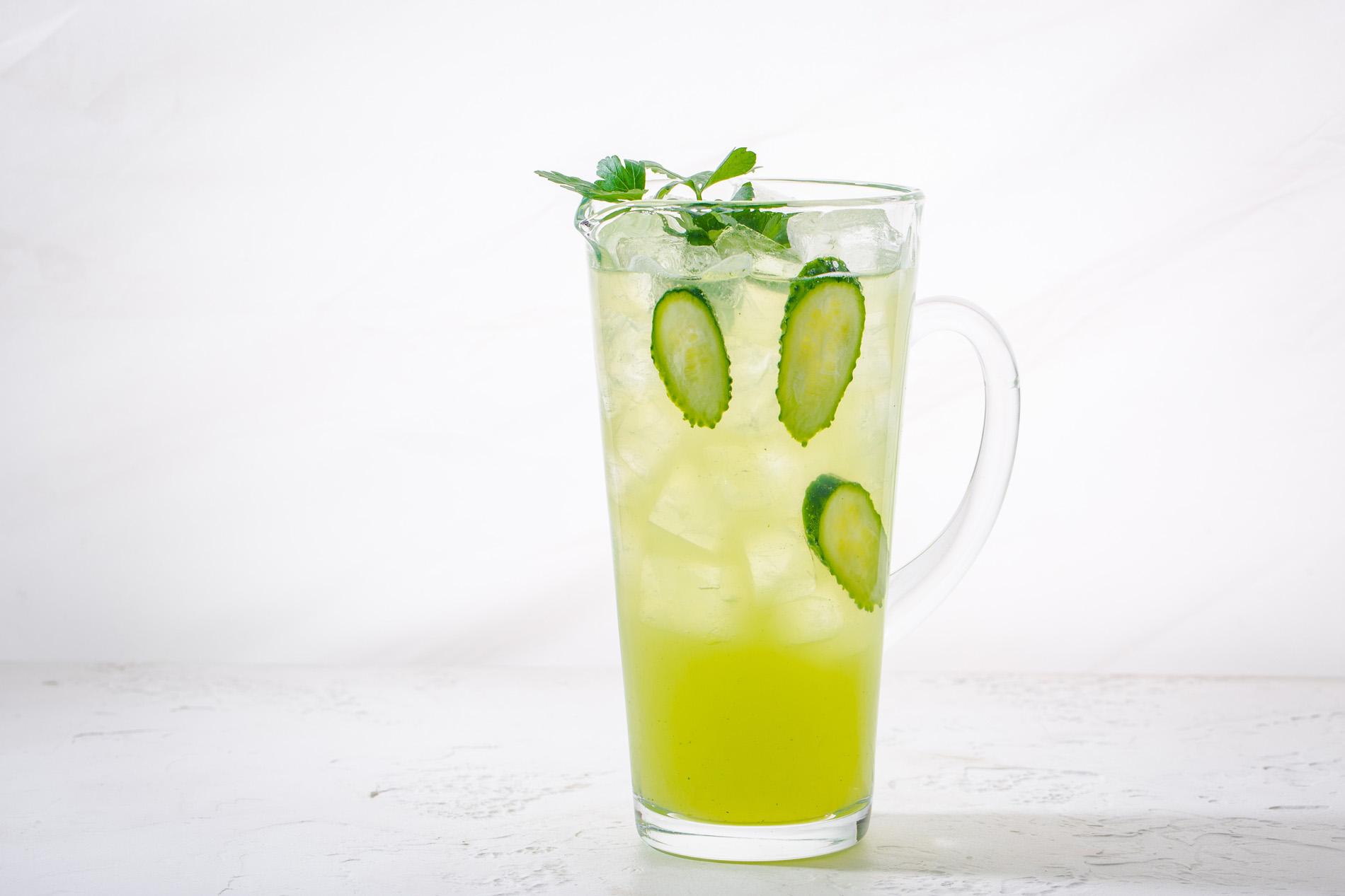 Лимонад огуречный