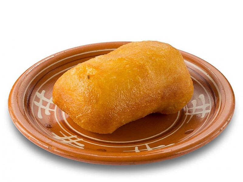 Пирожок постный жареный с повидлом
