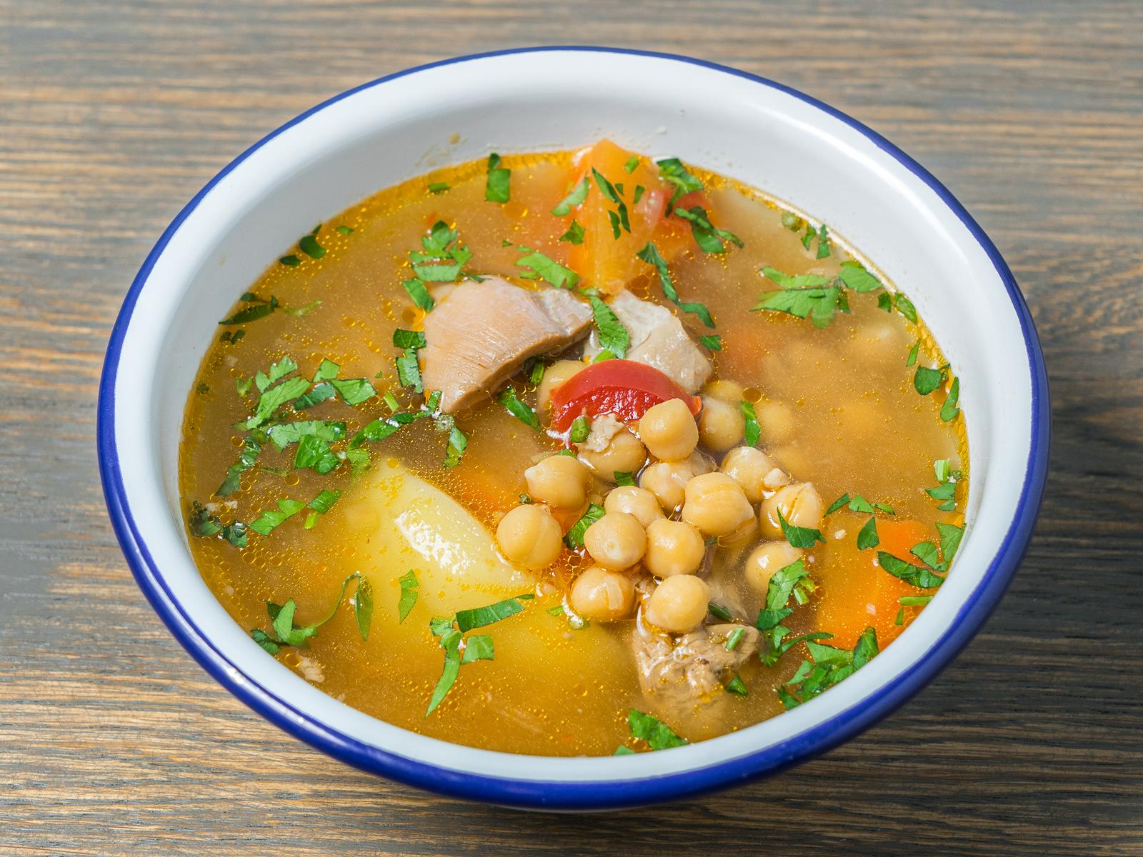 Суп Восточный с нутом