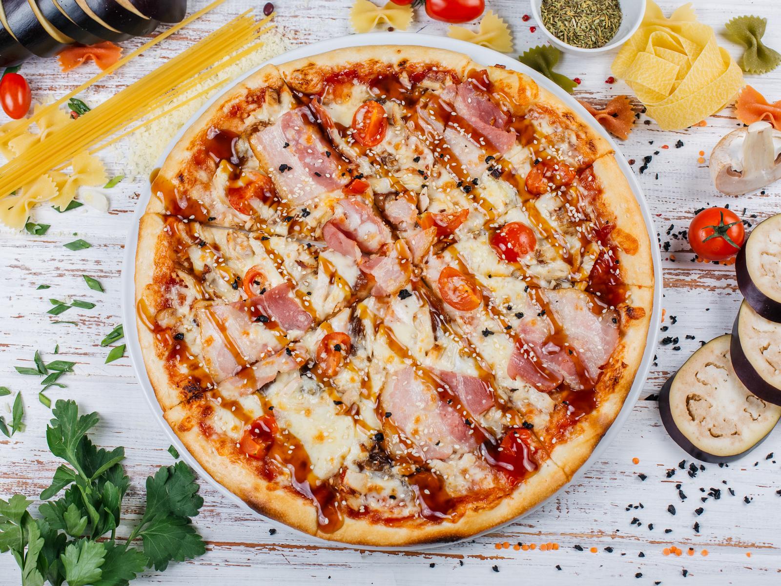 Пицца Терияки Гурме