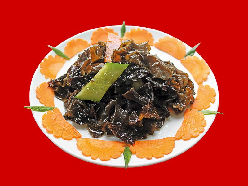 Салат из китайских черных грибов