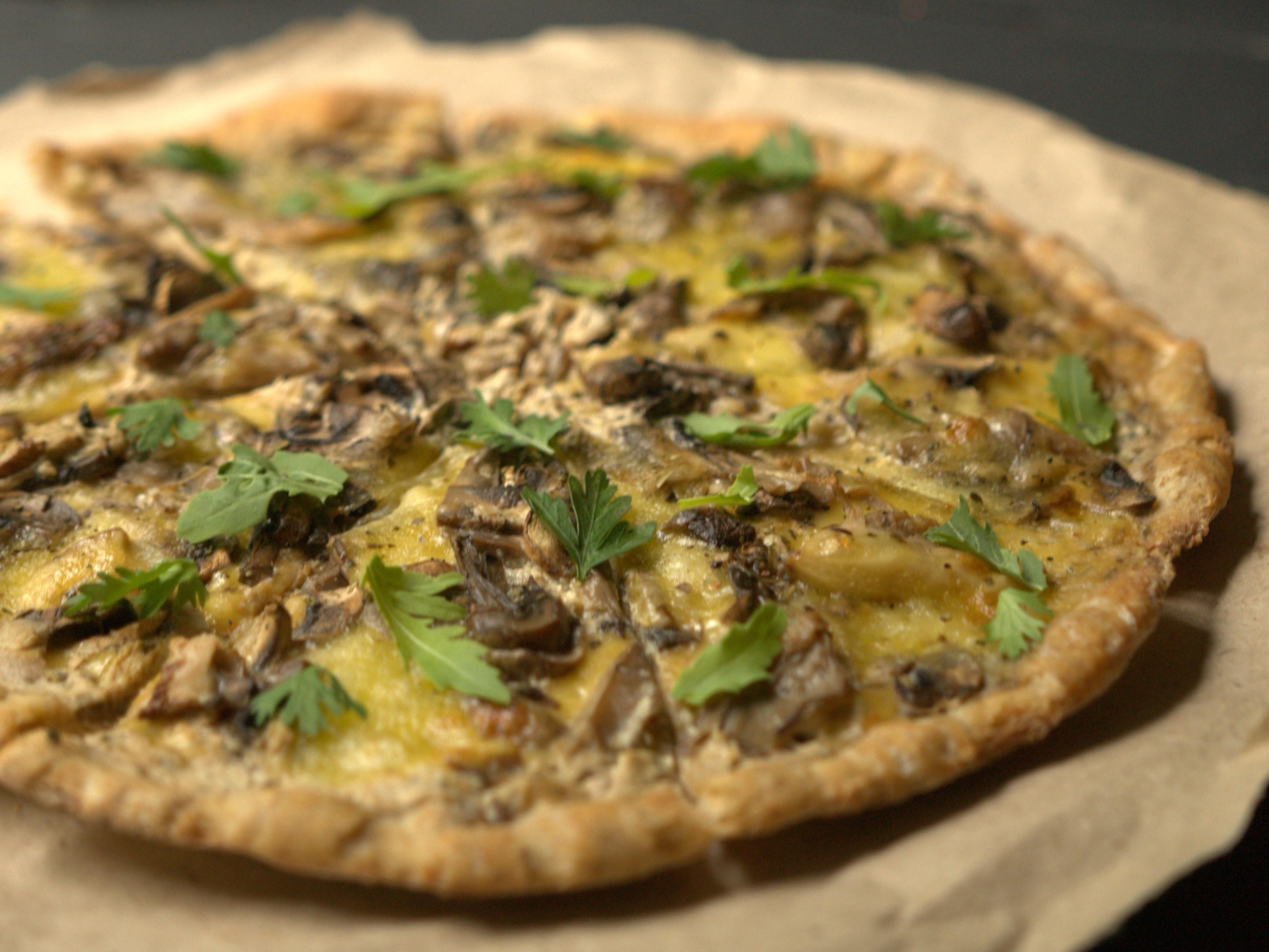 Пицца Индейка в грибах