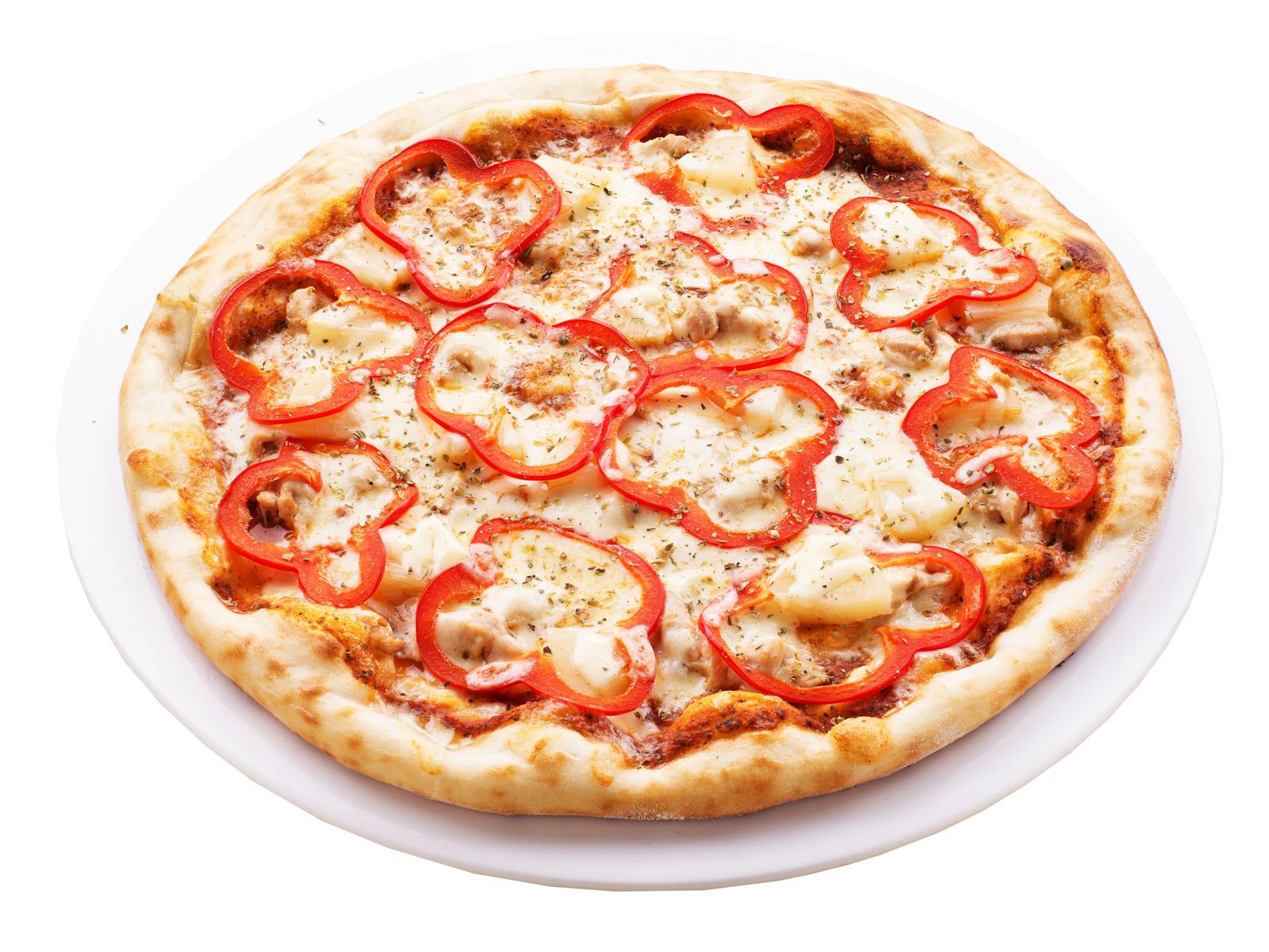 Пицца Гаваи с курицей