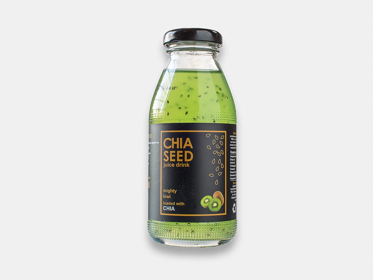 Лимонад Chia seed с киви