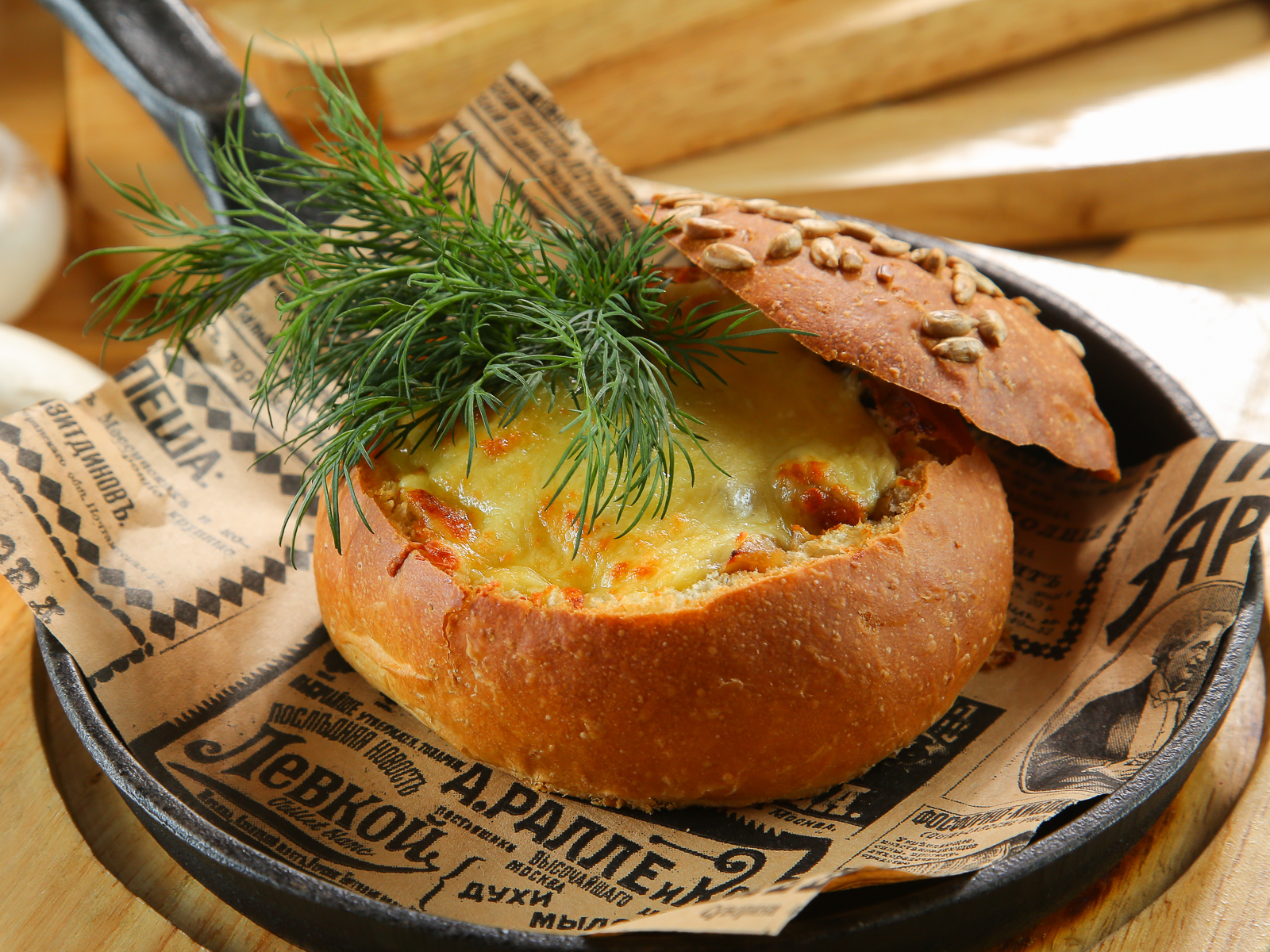 Грибы, запеченные с сыром