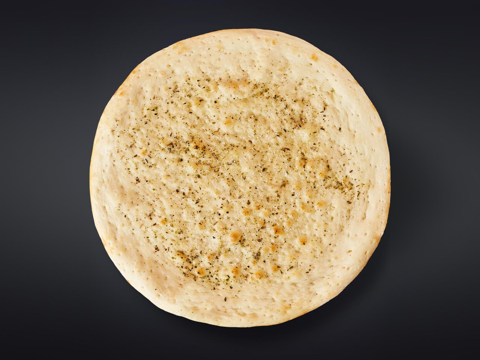 Пицца Фокачча с чесноком и орегано