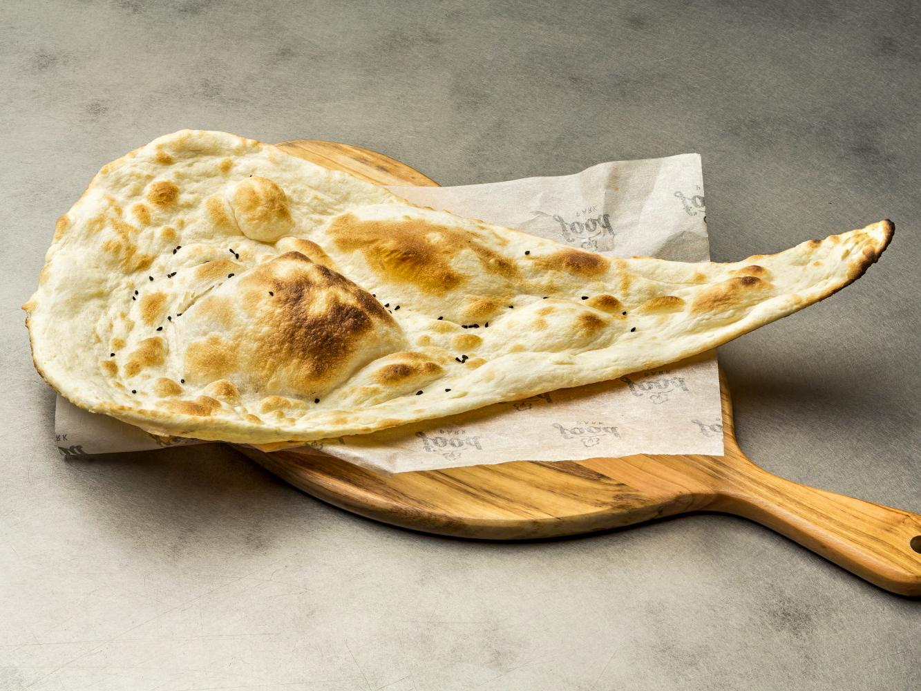 Хлеб Наан со сливочным маслом