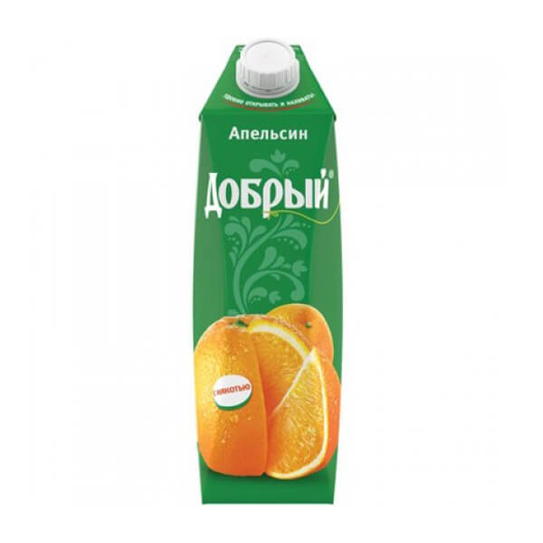 Сок Добрый апельсиновый