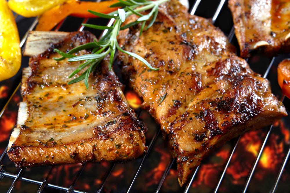 Свинина: рёбра барбекю