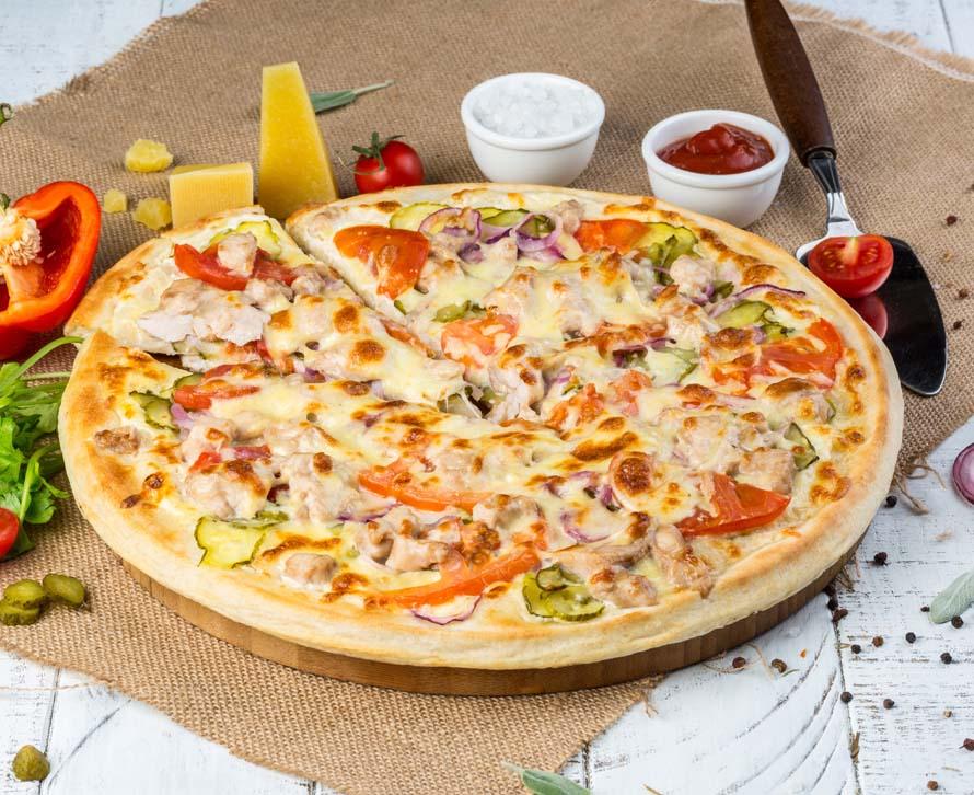 Пицца Тар-Тар фирменная
