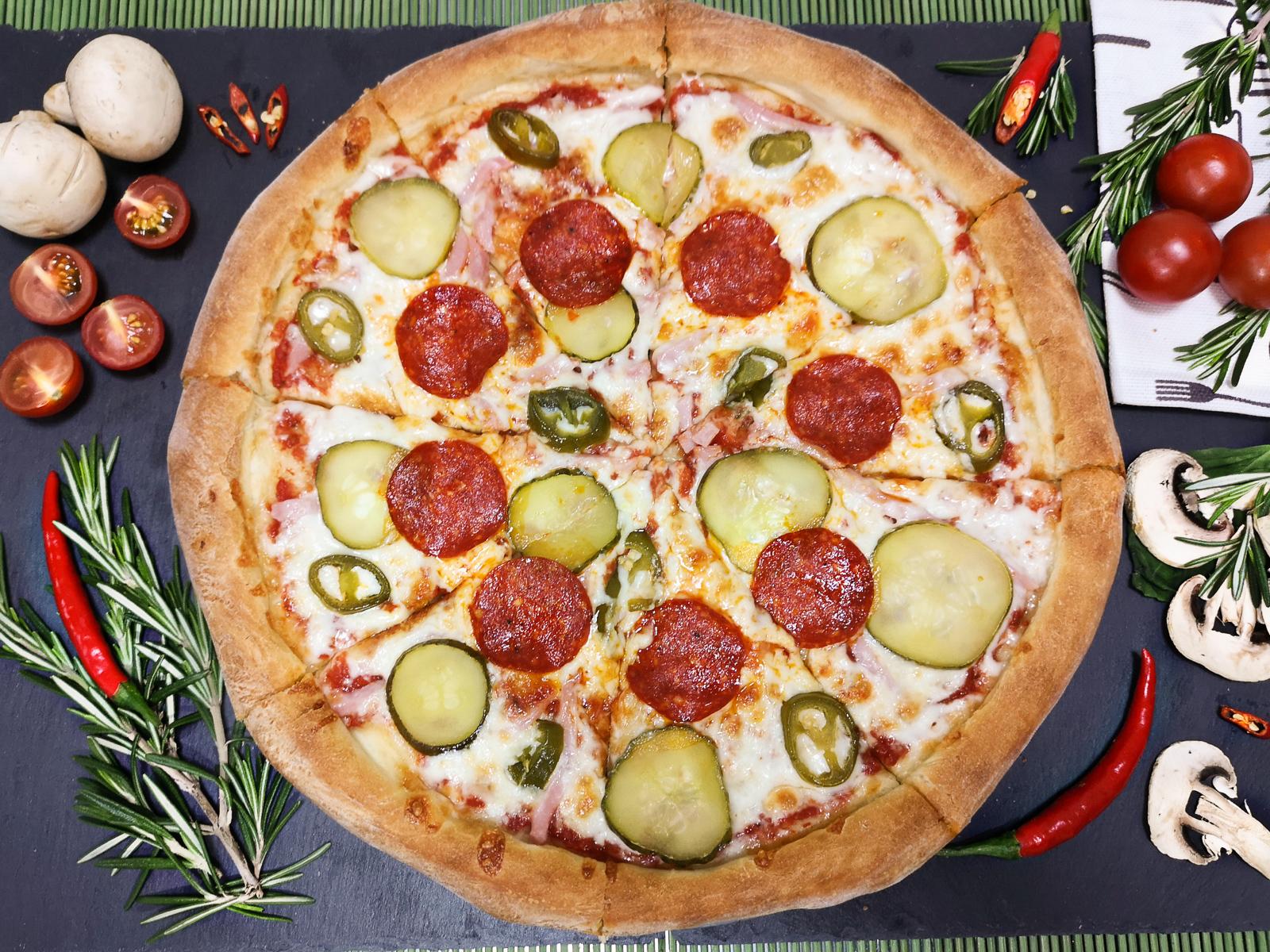 Пицца Дьябло