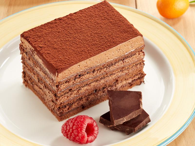 Торт Шоколадный порция
