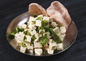 Салат из соевого творога