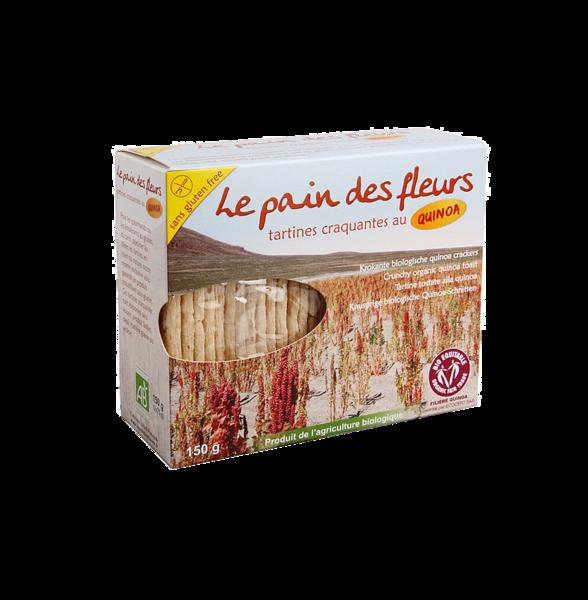 Хлебцы диетические из киноа, Pain des fleurs