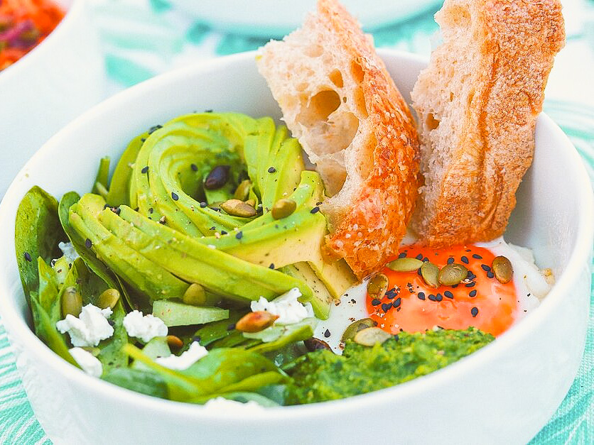 Зеленый завтрак
