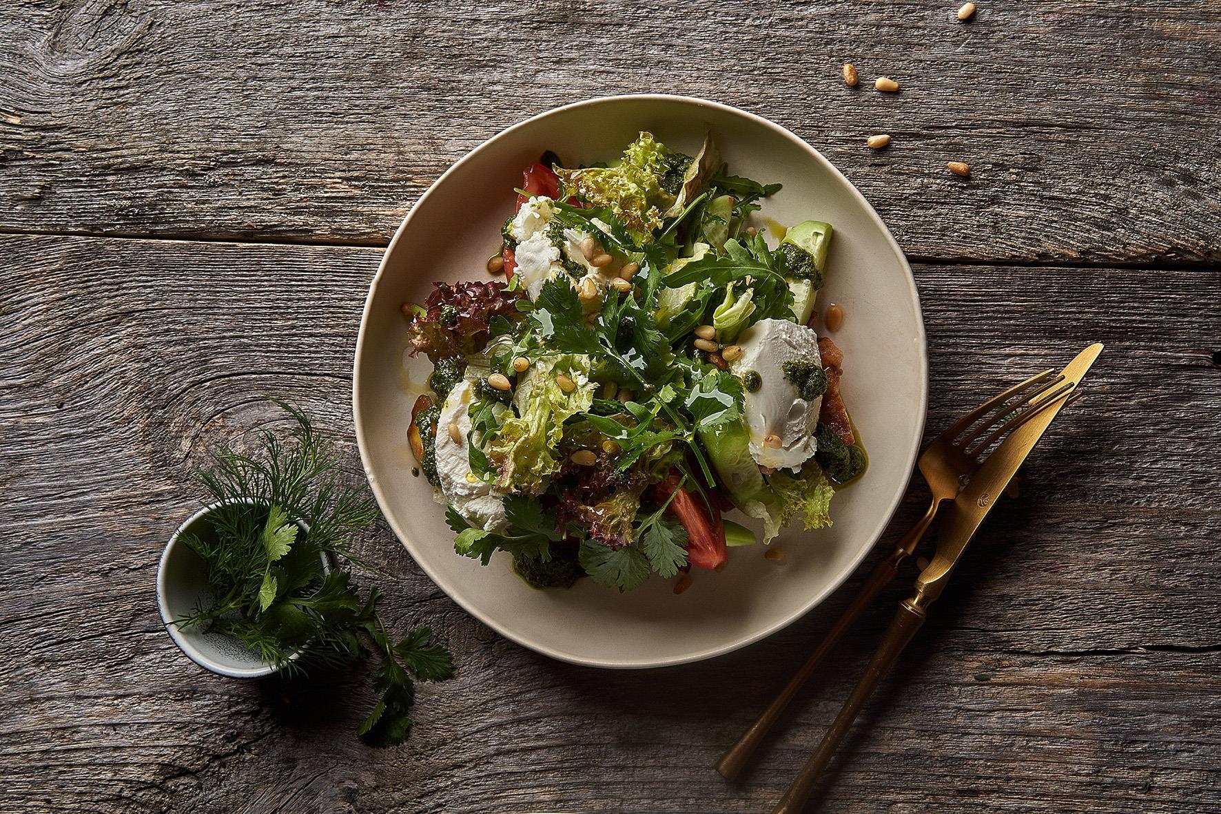 Салат из баклажан и сыра Сиртаки