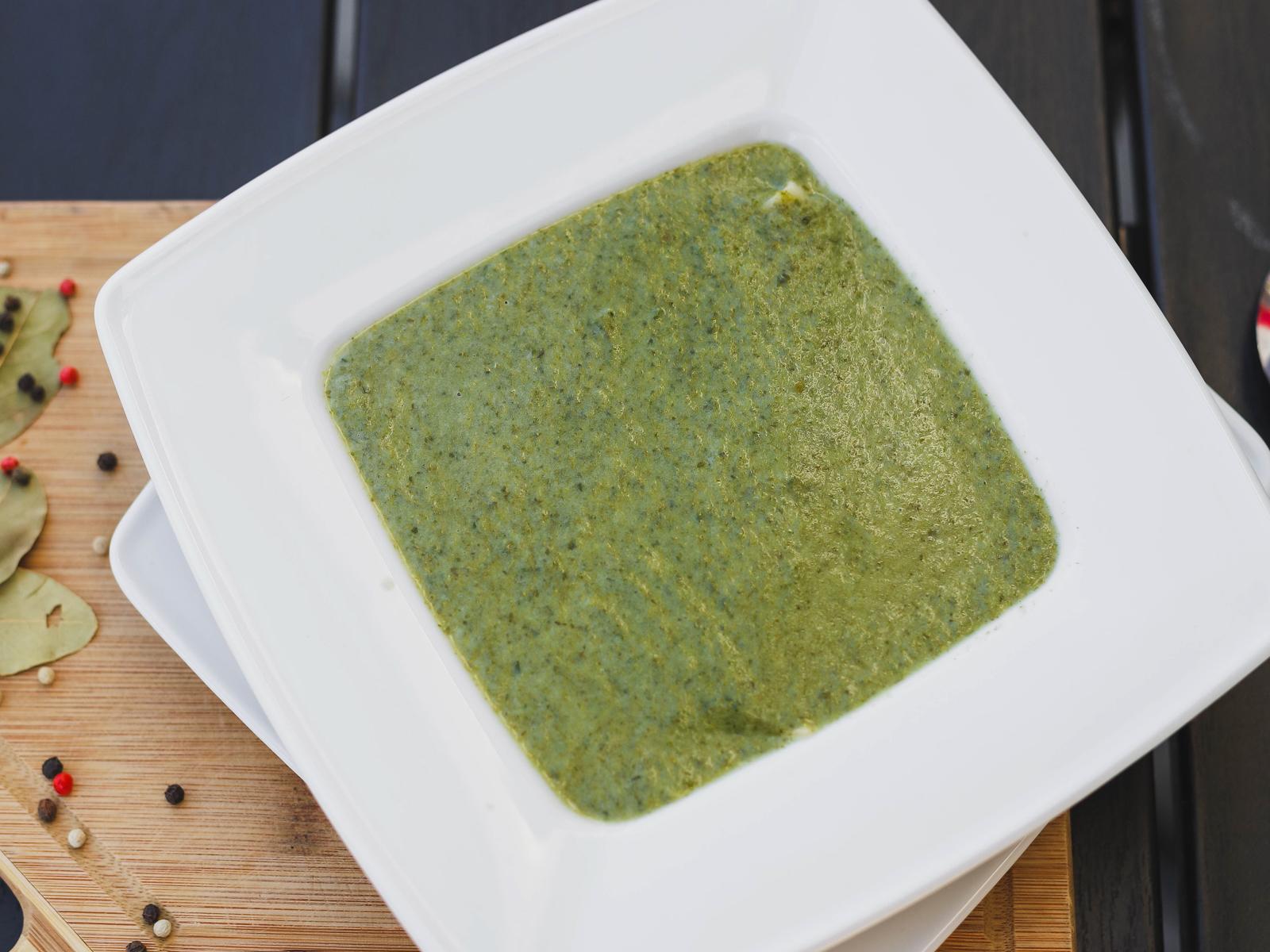 Крем-суп шпинатный