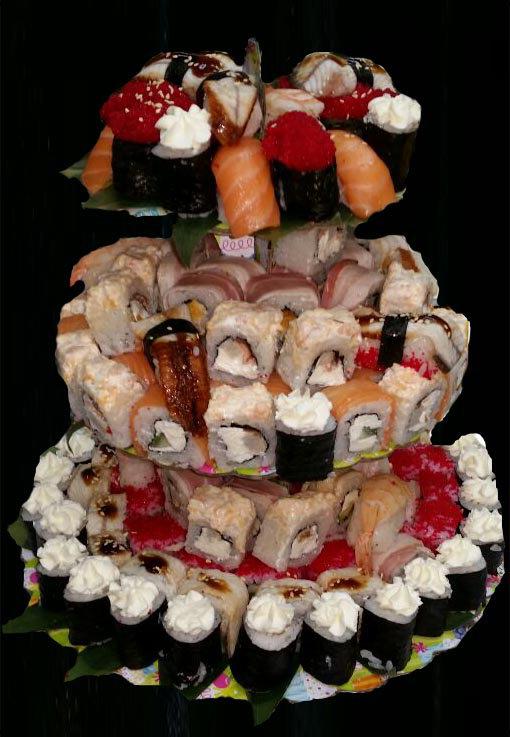 Суши торт №3