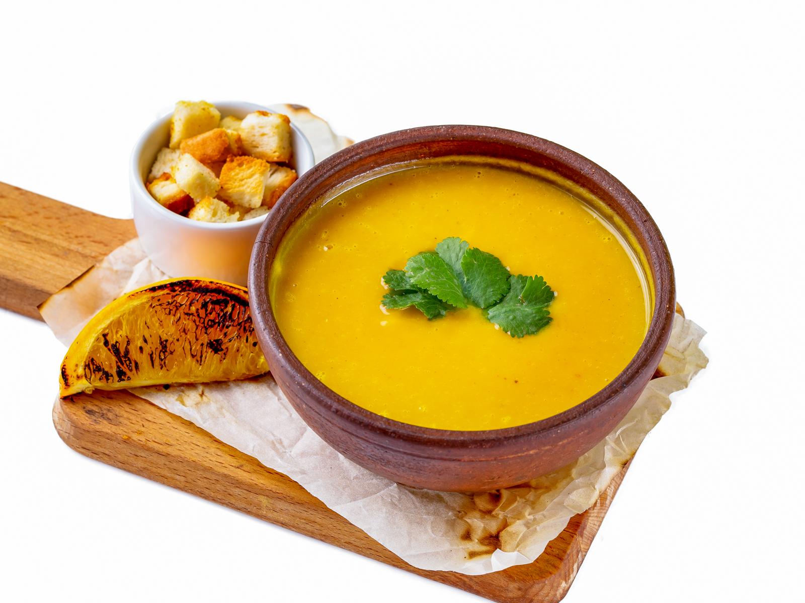 Суп Тыквенный суп с апельсинами