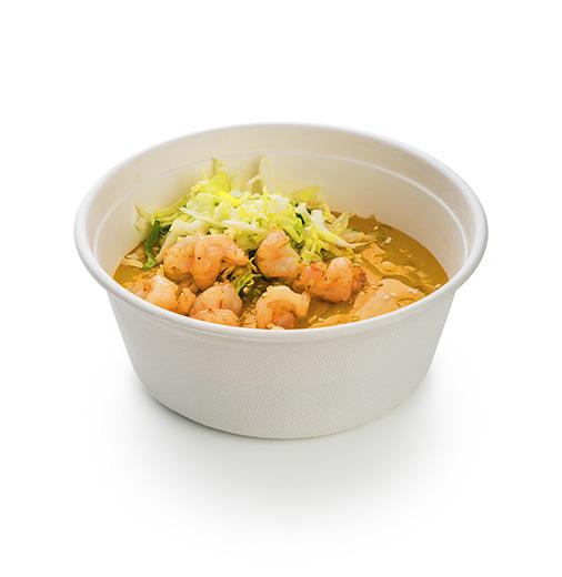 Суп долголетия с креветками
