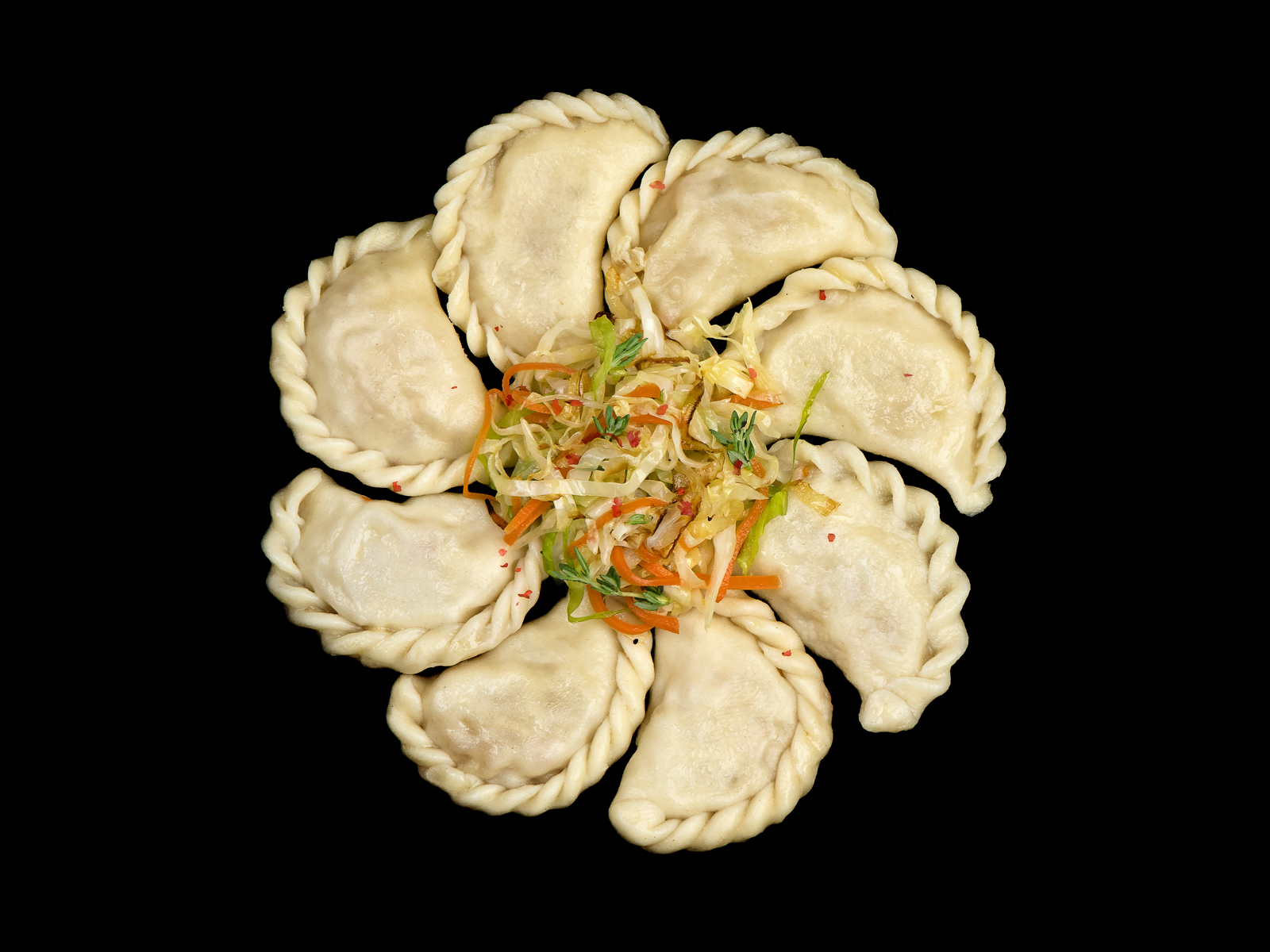Вареники ручной лепки ВегеПели с капустой
