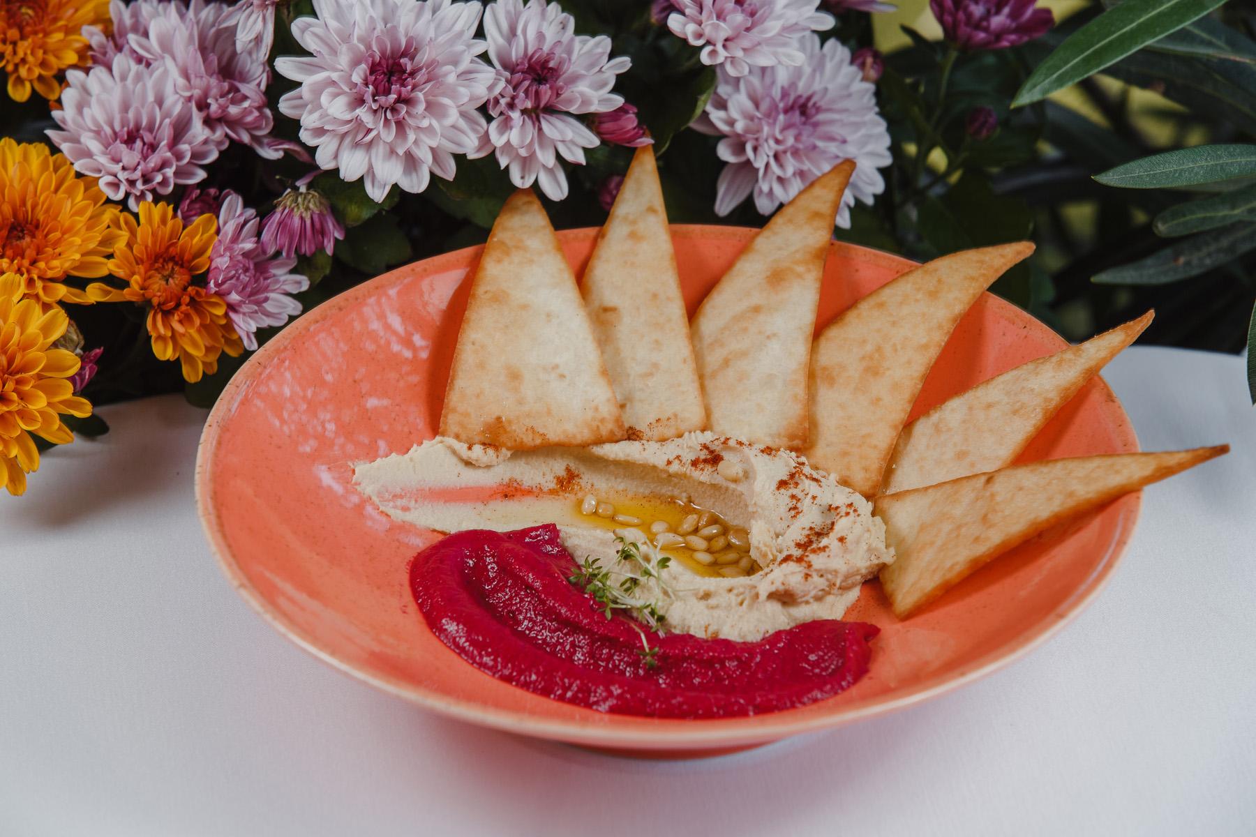 Арабский хумус