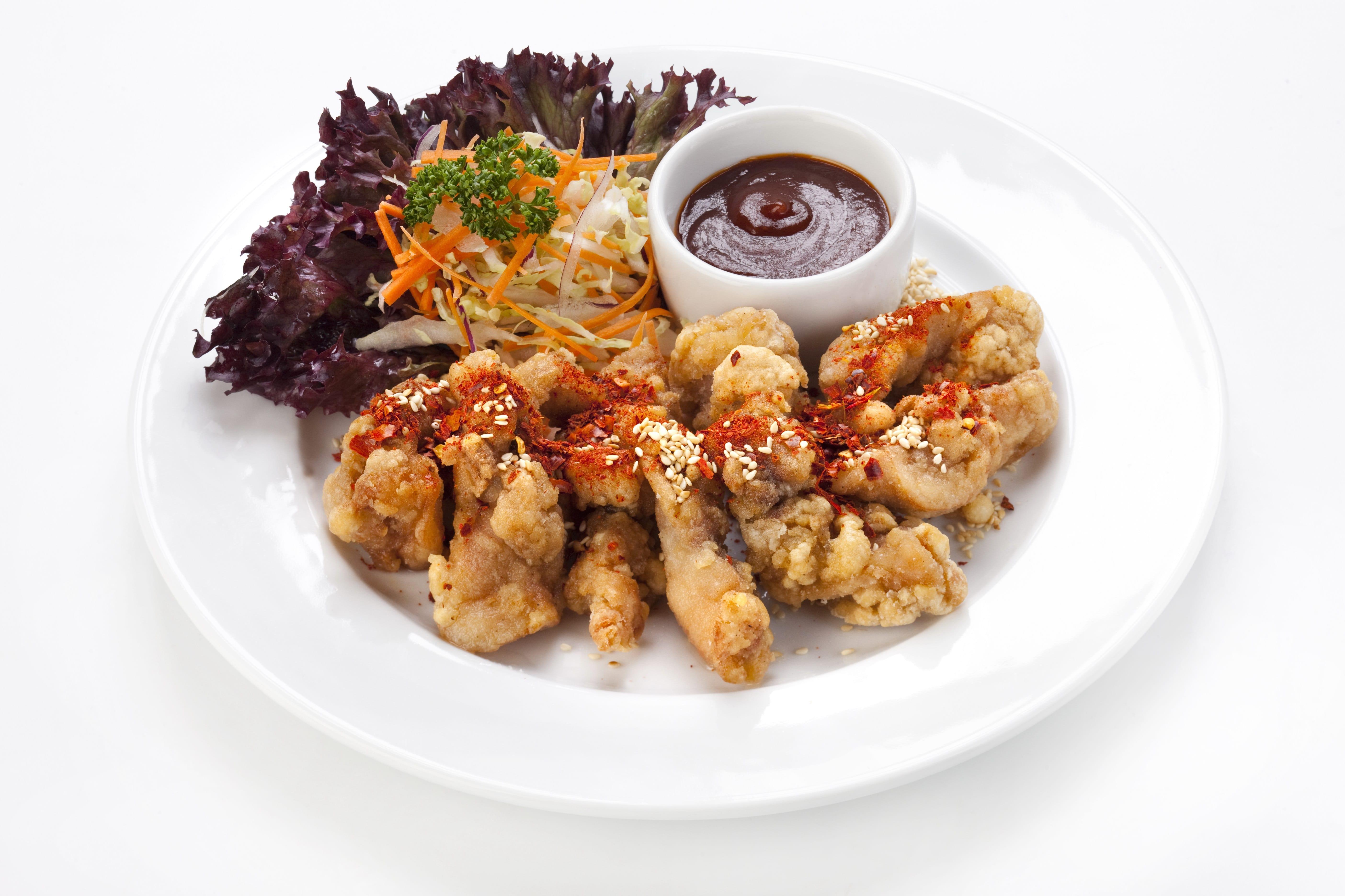 Куриное филе с имбирем Кай Тот Караоке