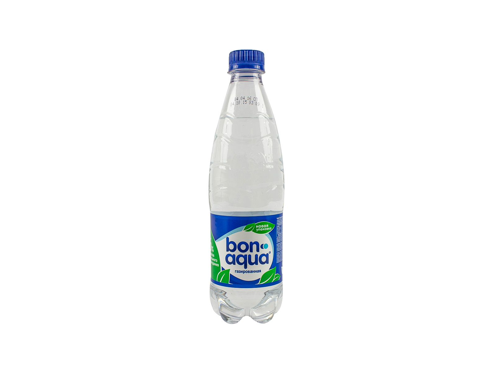 Вода BonAqua с газом