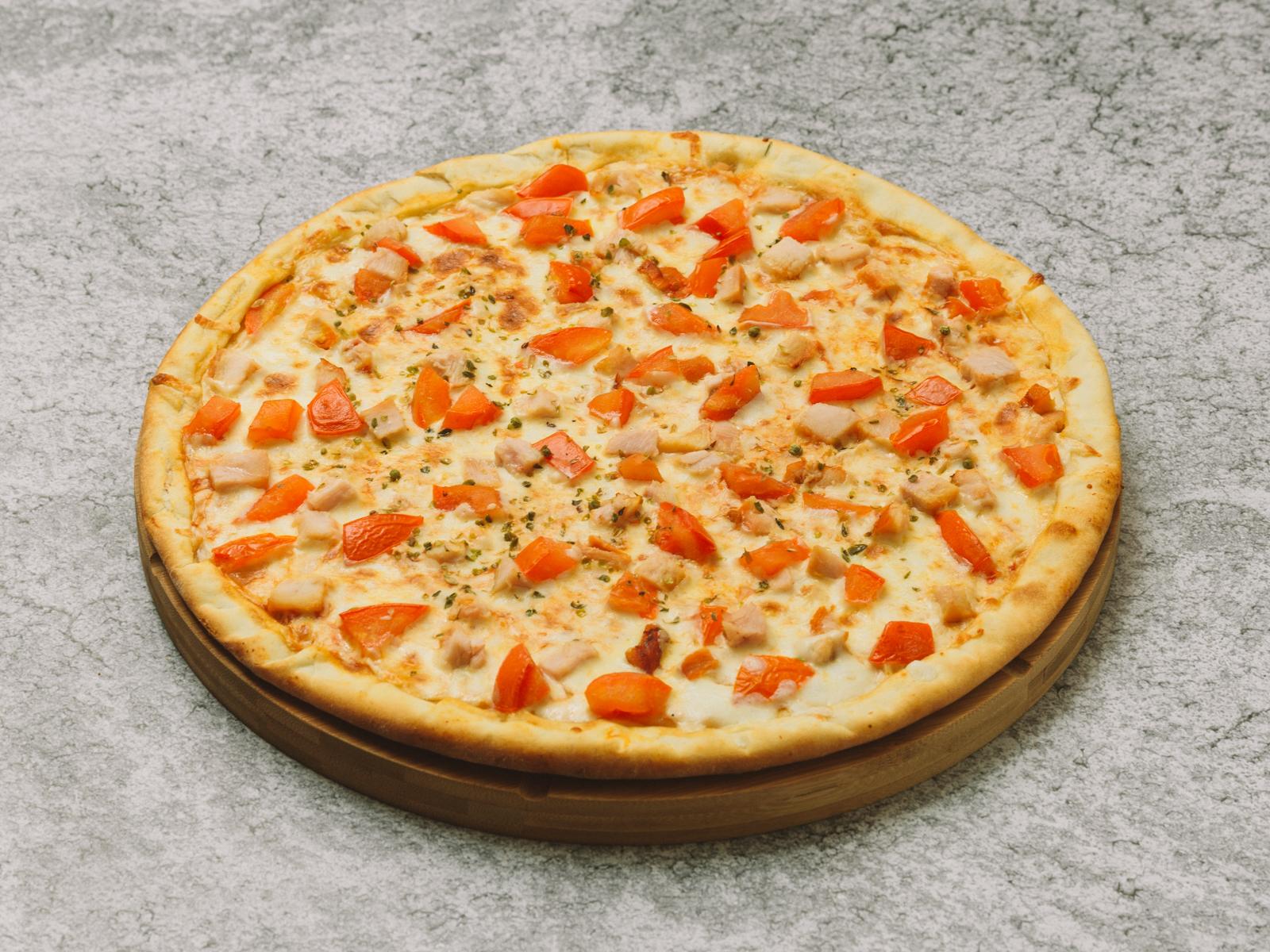 Пицца Чесночно-Куриная