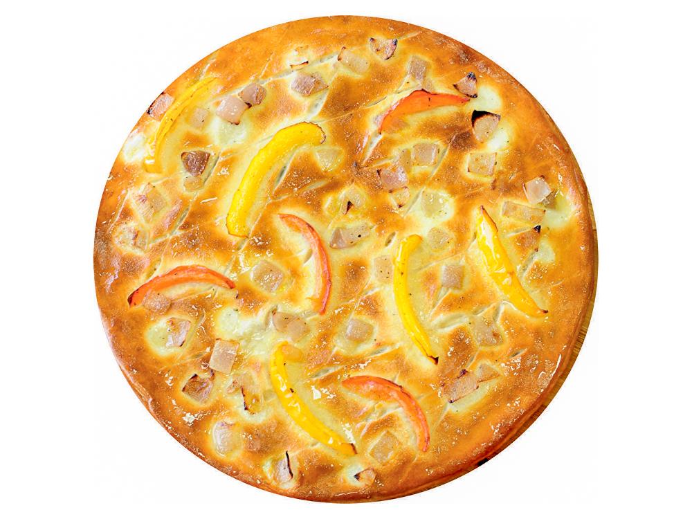 Пицца-стафф курица брокколи
