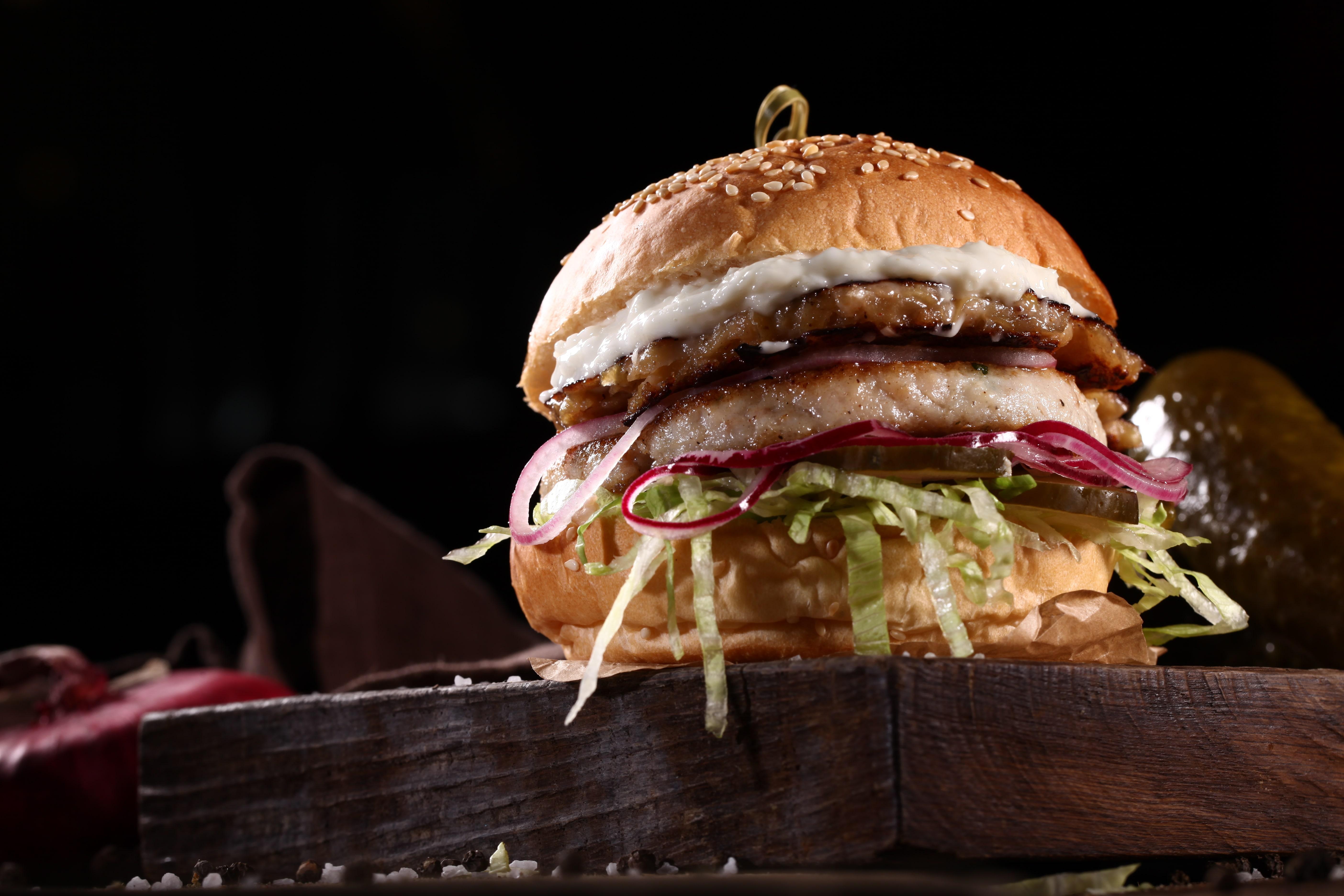 Щука бургер