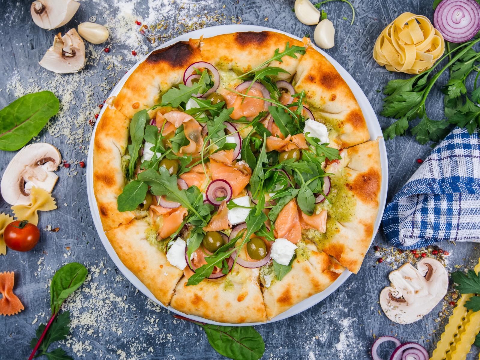 Пицца с сырными бортиками Ричезза