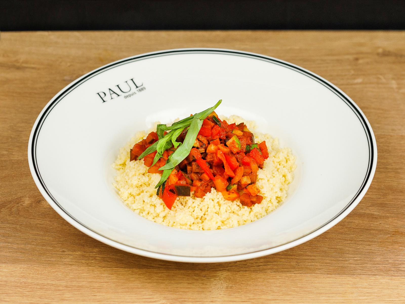 Кус-кус с овощным соте